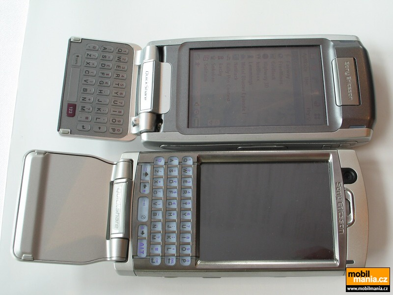 Sony Ericsson P990 pictures, official photos