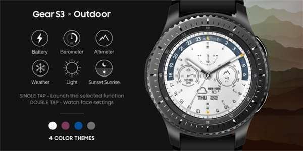 31a96ff75b3 Samsung vydal tři specializované ciferníky pro hodinky Gear S3 ...