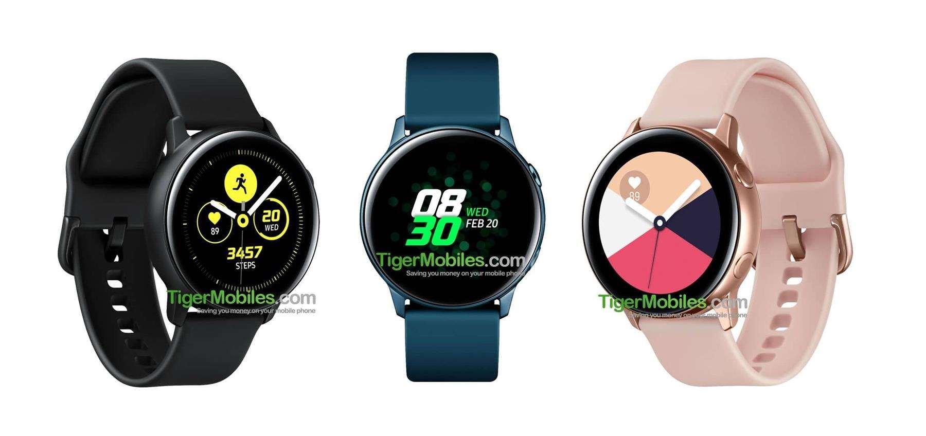d0a1b68d03f Samsung Galaxy Watch Active  nástupce Gear Sport dostane Tizen 4.0 a ...