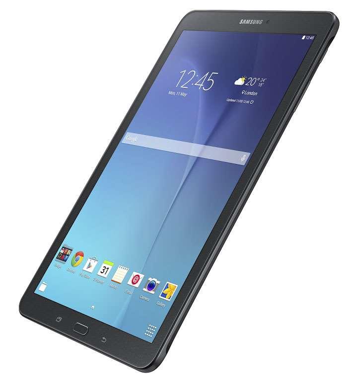 24dc50390 Oficiální fotografie Samsungu Galaxy Tab E 9.6 v černé a bílé barevné  variantě
