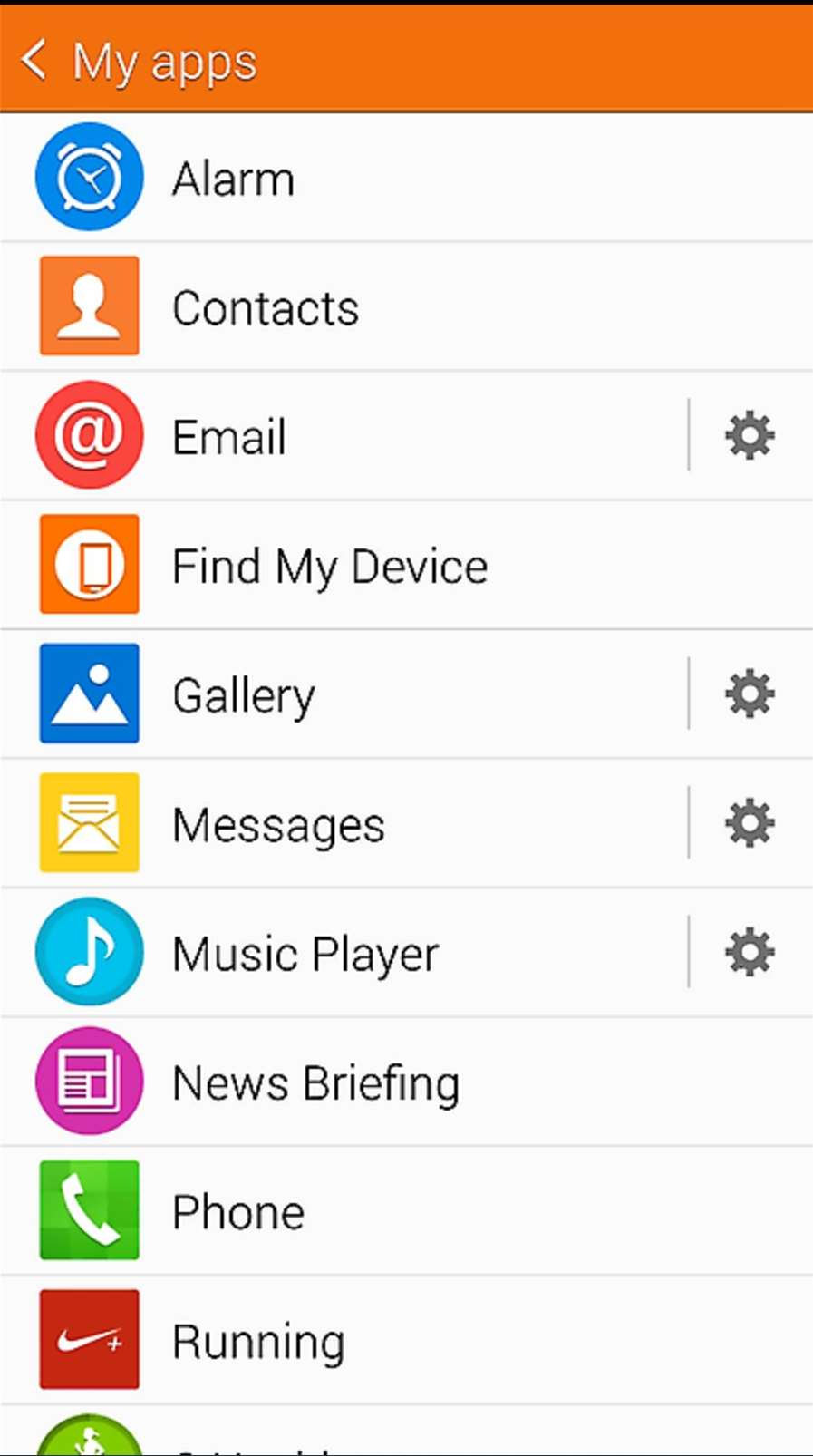 Samsung aktualizoval Gear Manager: Gear Circle a nový design