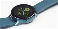 Trying: Samsung Galaxy Watch Active - Slim Wrist Fitness Clock