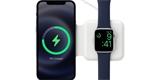 Apple prodává MagSafe Duo. Zvládne telefon i hodinky, ale nabíjecí výkony jsou trochu pro smích