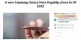 A zase je tu petice. Uživatelé od Samsungu chtějí v příštím roce nový Galaxy Note