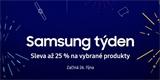 Samsung týden. Jihokorejci u vybraných produktů brzy sleví až 25 procent