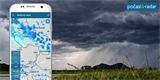 Aplikace Počasí & Radar obsahuje dešťový radar a předpověď pro ČR i celý svět