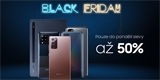 Black Friday v podání Samsungu: výhodné balíčky a až 36% slevy na telefony