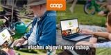 Online nákup potravin míří i na venkov. COOP zatím funguje bez doručení a bez aplikace