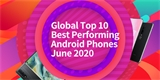 Žebříček nejvýkonnějších Androidů ovládli v červnu Číňané. Samsung uhájil dvě místa v Top 10