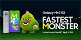 Samsung chystá Galaxy M42. Těšte se na Super AMOLED a na Snapdragon 750G