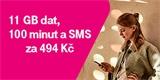 """T-Mobile vrací """"podpultový"""" tarif. Za 11 GB dat, 100 minut a 100 SMS chce pětistovku"""