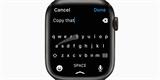 Klávesnici odstranil z App Storu, okopíroval a vydal jako hlavní novinku Apple Watch. Nyní Apple čelí žalobě