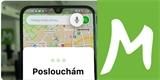 Mapy.cz přinášejí vylepšení do mobilu. Cíl cesty můžete do navigace zadávat hlasem