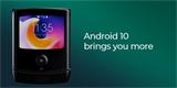 Motorola Razr dostala Android 10. Vnější displej ohebného véčka toho teď umí víc