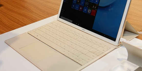 Huawei MateBook živě: ambice konkurovat Surfacu [video]