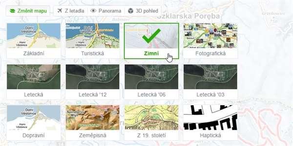 Mapy cz hrnou další novinky: Osvětlené sjezdovky, sáňkařské