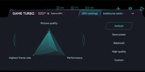 Xiaomi Mi 10 Pro+ má nabídnout režim Game Turbo...