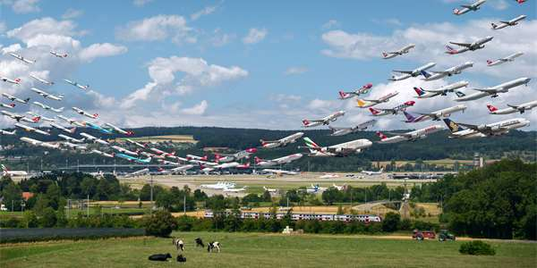 Zurich Airport 28 and 16 (obr.: Mike Kelley)