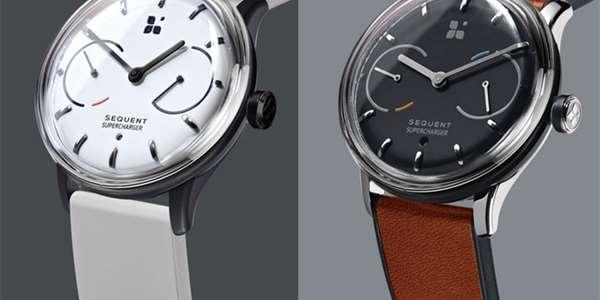 3a460b06e89 Tyto chytré hodinky nemusíte dávat na nabíječku. Dobijí se samy díky pohybu  ruky