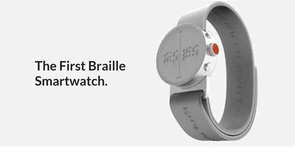 Alza začne prodávat chytré hodinky s Braillovým písmem pro nevidomé 01ffaa2b7c5