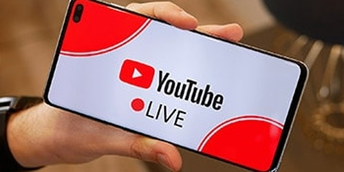 Show what you do on the phone  YouTube Launches Live