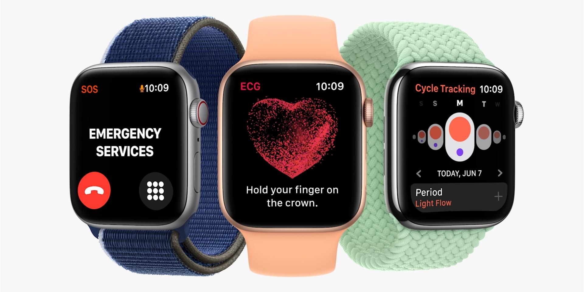 watchOS 8: Hodinky od Applu se naučí rozpoznat nový trend a upozorní na problém