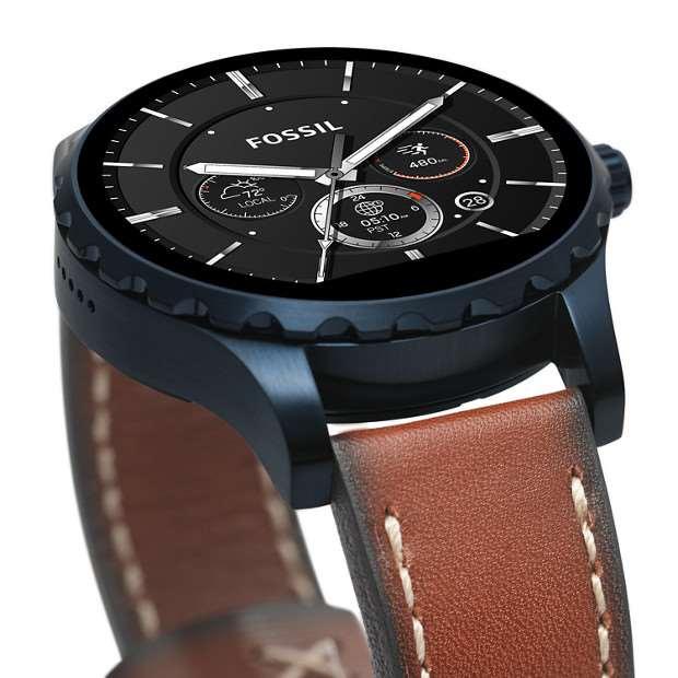 Levnější varianty hodinek za 295 dolarů. V těchto dnech se robustnější z  obou typů hodinek Fossil Q Marshal dostávají do prodeje ... 31ca88115a4