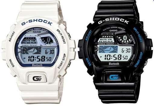 Casio Bluetooth G-Shock  k chytrému telefonu patří chytré hodinky ... eed98dd862