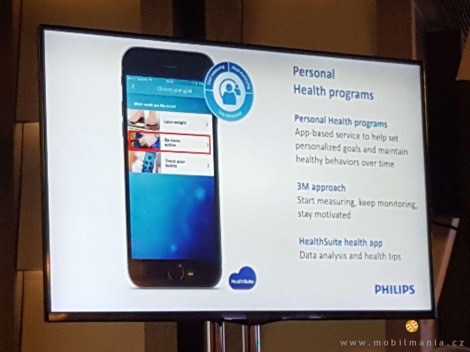Philips dá smysl nositelnostem. Zaměří se na péči o zdraví ... d6c40360f4