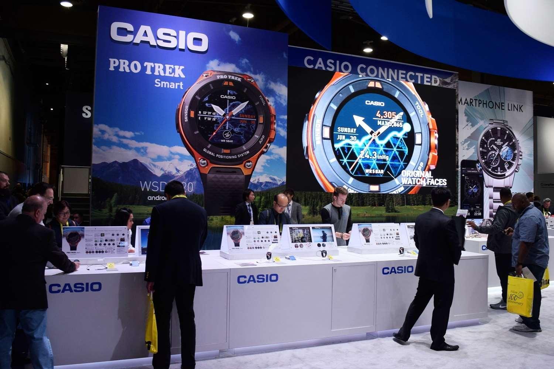 Nové hodinky Pro Trek Smart byly hvězdou stánku Casia na veletrhu CES 771734ba2f4