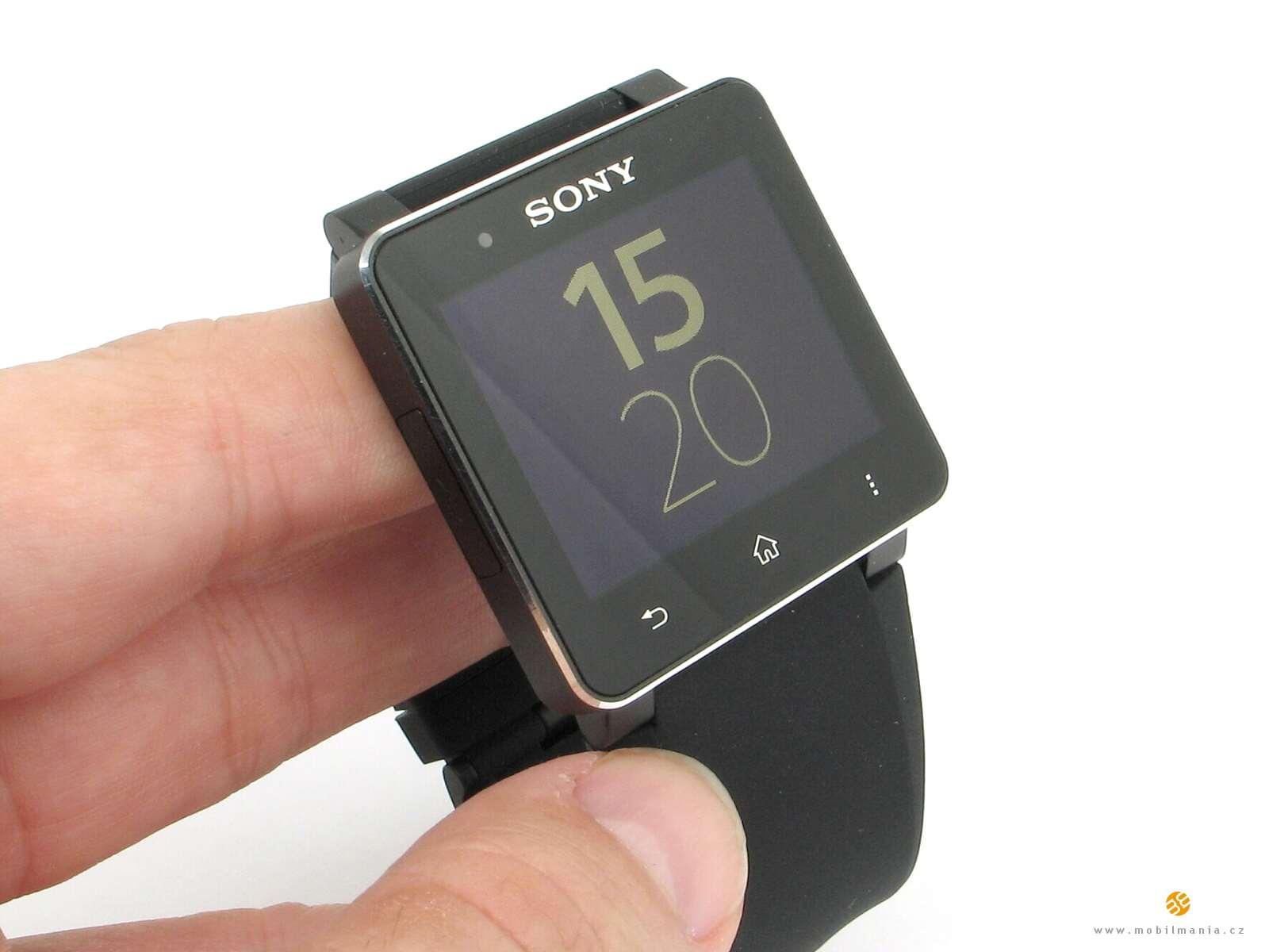 Chytré hodinky od Sony jsou elegantní a nabízejí velmi dobře čitelný  displej. Sony Smartwatch 2 ... 18c6bf3e004