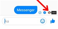 How to secretly read a messaging message if the sender doesn't know it