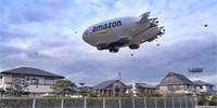 Вот так может выглядеть дирижабль, с которого amazon запустит дроны-доставщики