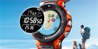 Casio Pro Trek jsou odolné hodinky se dvěma displeji. Když vypnete Wear OS, baterie vydrží měsíc!