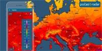 Обновление Weather & Radar обеспечивает интерактивное отображение температуры по всему миру