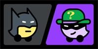 Бэтмен контролировал навигацию Waze. Мы снимали это в действии, и это довольно весело, смотрите