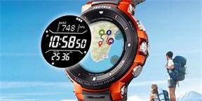 bc295efb872 Casio Pro Trek jsou odolné hodinky se dvěma displeji. Když vypnete Wear OS