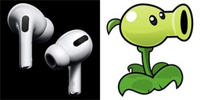 Plants vs. Zombies, fén, i droid ze Star Wars. Internet šije do sluchátek Apple AirPods Pro
