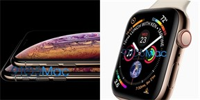 Applu utekla grafika. Tohle je iPhone XS a Apple Watch 4
