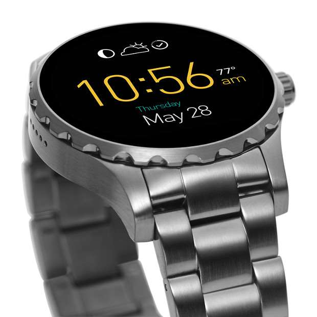 Galerie - Hodinky Fossil Q Marshal druhé generace míří do prodeje. Po  aktualizaci na Android Wear 2.0 ... 785179dc506