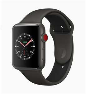 Apple Watch 3 jsou navenek stejné. Červená korunka ale značí schopnost  telefonovat d075625f86