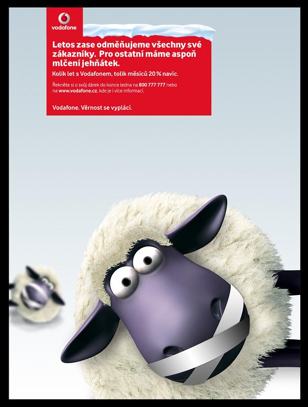 Vodafone představil roztomilé ovečky pro všechny - Blůábolník Chomutováka