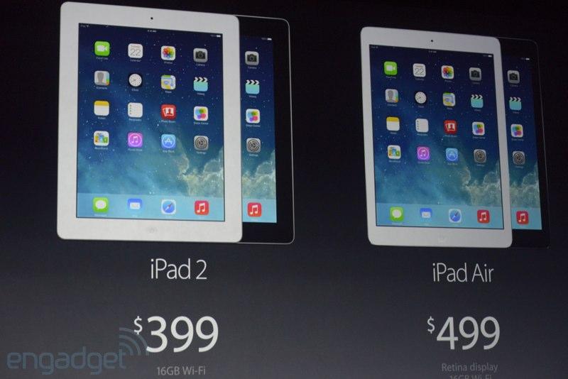 iPad 5, iPad mini 2, OS X Mavericks a nove Macbooky